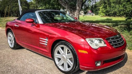 Buy 2006 Chrysler Crossfire Limited Roadster RWD